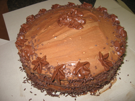 Chocolate Kahlua Cake Devil