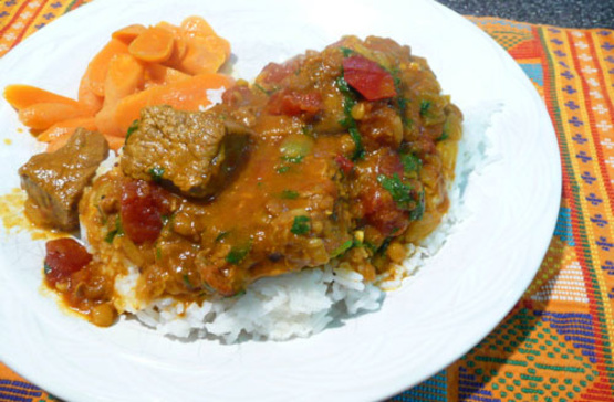 Indian Beef Madras Curry Recipe