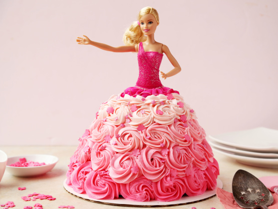 Barbie Birthday Cake Recipe Genius Kitchen