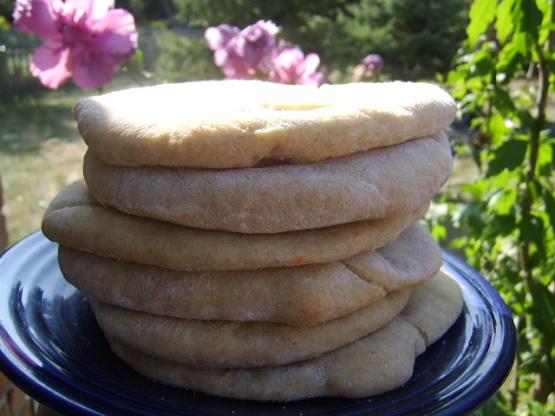 Whole Wheat Pita Bread Recipe Genius Kitchen