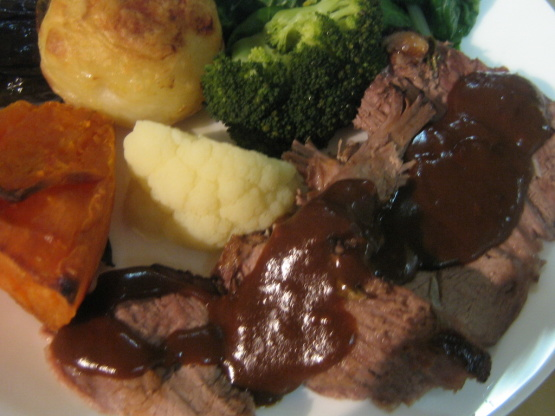 how to make gravy from beef tenderloin drippings