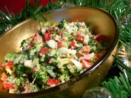 Christmas Salad Recipes.Christmas Broccoli Salad