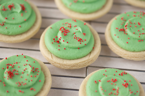 Elaines Holiday Cut Out Sugar Cookies Christmas Recipe Genius