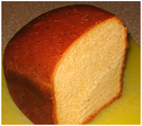 Cheddar Cheese Bread - Bread Machine Recipe