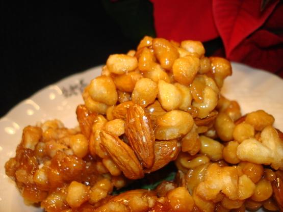 Italian Honey Balls Pignolata Or Struffoli Recipe