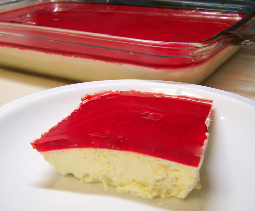Mexican Jello Cake Recipe: Christmas Jello Salad Recipe