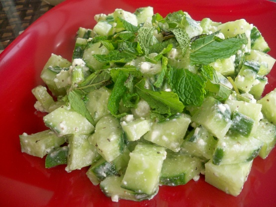 Easy egyptian feta salad recipe genius kitchen join the conversation forumfinder Image collections