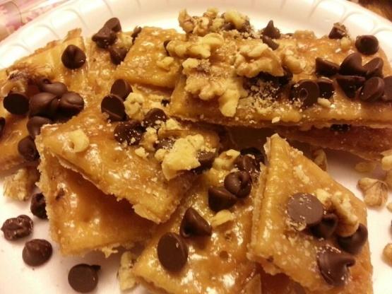 Saltine Candy Toffee Recipe Genius Kitchen