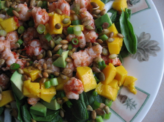 Caribbean Salads Ready To Go: Caribbean Shrimp Salad With Lime Vinaigrette Recipe