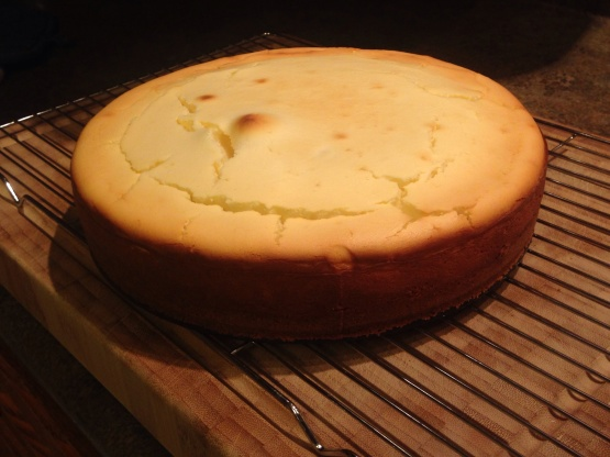 Basic Cheesecake Recipe Genius Kitchen