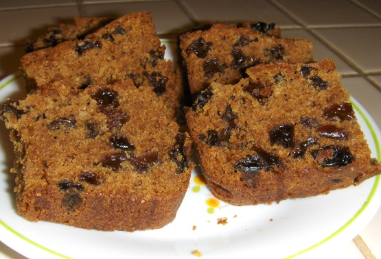Rum Raisin Cake Recipe