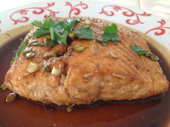 Chinese Style Flavorful Salmon Recipe Food Com
