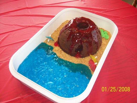 Erupting Volcano Cake Recipe Genius Kitchen