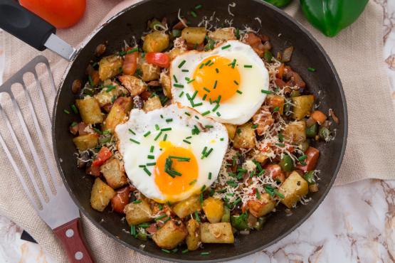 Breakfast Skillet Recipe Genius Kitchen