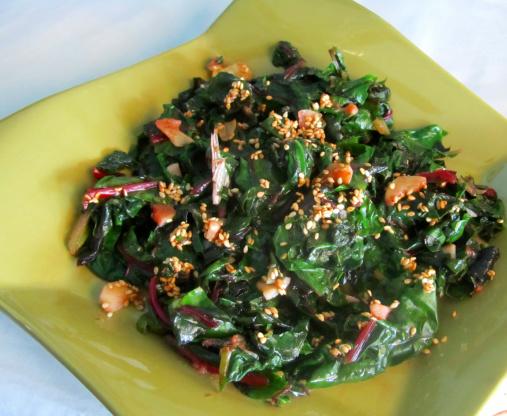 Asian Sauteed Spinach Recipe Genius Kitchen