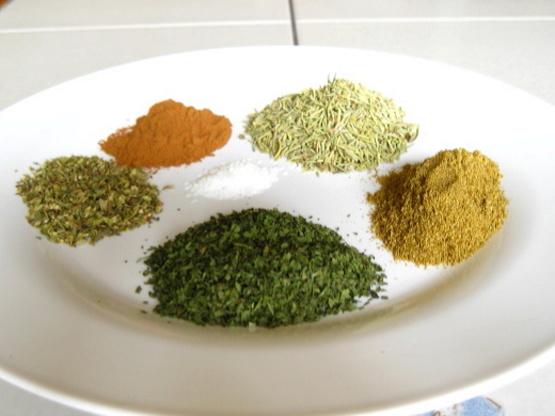 Mediterranean Spice Mix Recipe