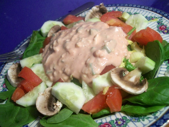 Splendid Lettuce Salad With Thousand Island Dressing Recipe Genius