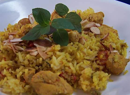 how to make indian chicken pilau rice