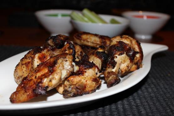 Spicy Grilled Chicken Wings Recipe - Genius Kitchen