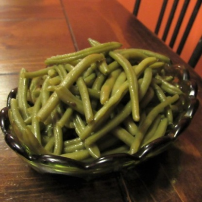 how to make baked green beans