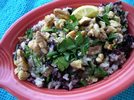 how to cook hand parched wild rice