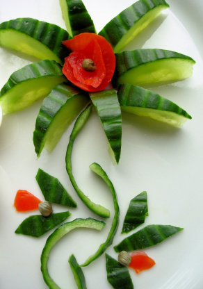 floral garnish without the flowers dedicated to bergy recipe