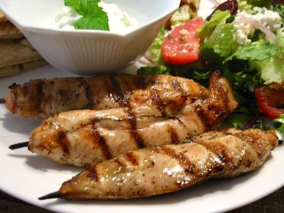 Chicken Souvlaki Recipe Genius Kitchen
