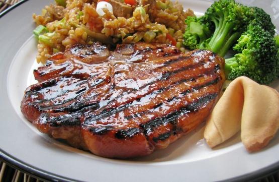 Grilled chinese pork chops recipe chinesenius kitchen like forumfinder Gallery