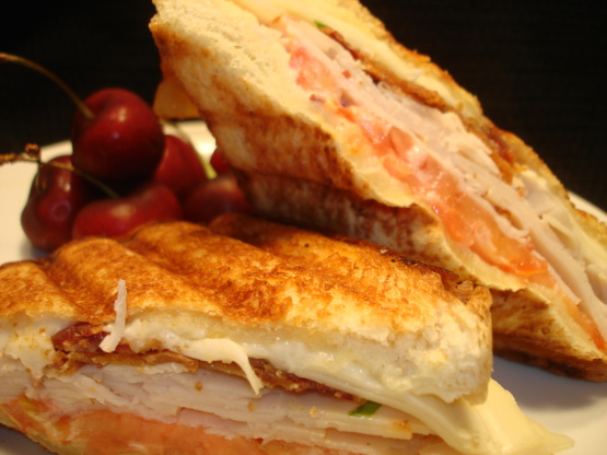 Turkey Club Panini Sandwich) Recipe - Genius Kitchen