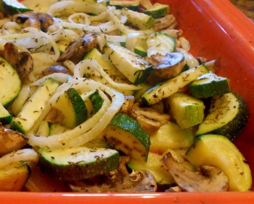 Roasted Zucchini, Mushrooms, And Onions Recipe - Genius Kitchen