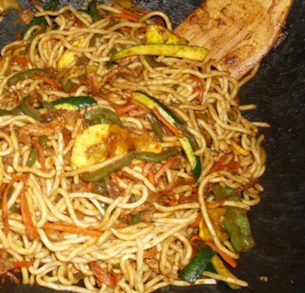 Chicken chow mein easy recipe chinesenius kitchen like forumfinder Image collections