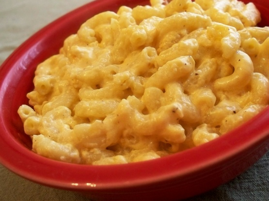 american mac and cheese recept