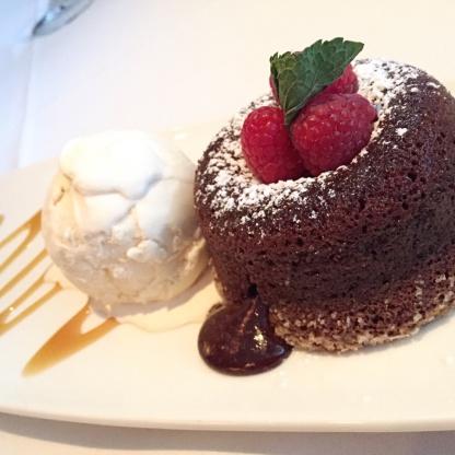 Individual Chocolate Souffle Cake Recipe