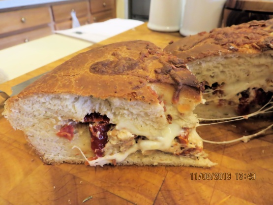 Bread Machine Stuffed Rosemary Focaccia Recipe Italiannius Kitchen