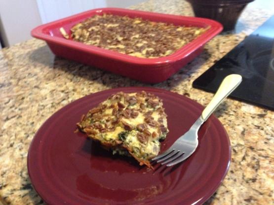 Chicken Spinach Lasagna Casserole Recipe Genius Kitchen