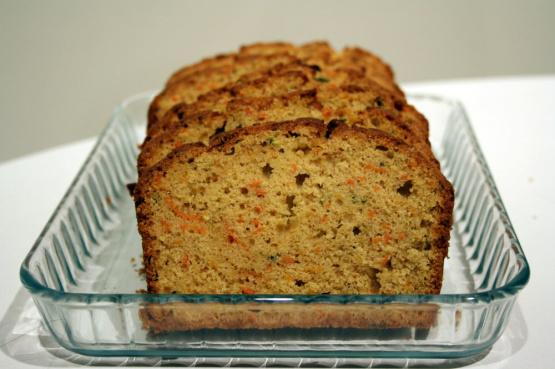 Whole Wheat Zucchini Or Carrot Bread Recipe Genius Kitchen