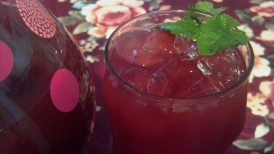 how to make blackberry iced tea