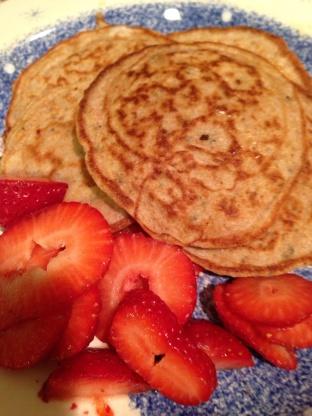 Low Carb Oatmeal Pancakes Recipe Genius Kitchen