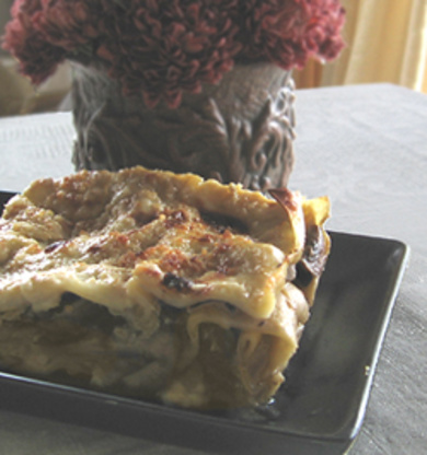Vegan Mushroom And Bechamel Lasagna Recipe - Italian ...