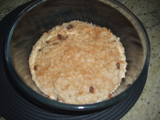 how to make rice pudding with brown rice