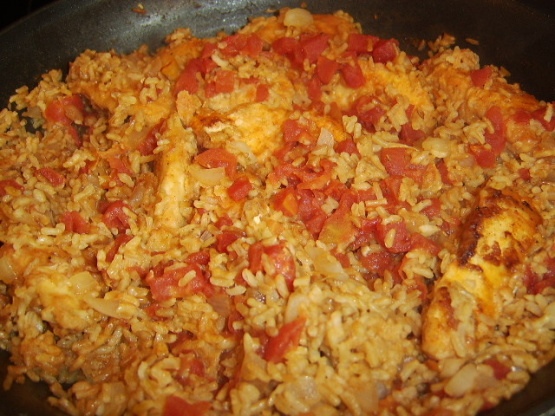 Simple Arroz Con Pollo Recipe Genius Kitchen