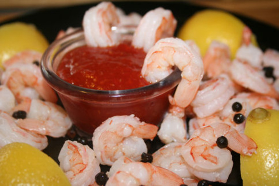 Perfect Boiled Shrimp And Cocktail Sauce Recipe - Genius Kitchen