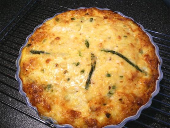 Holiday Crustless Crab Quiche Recipe Genius Kitchen