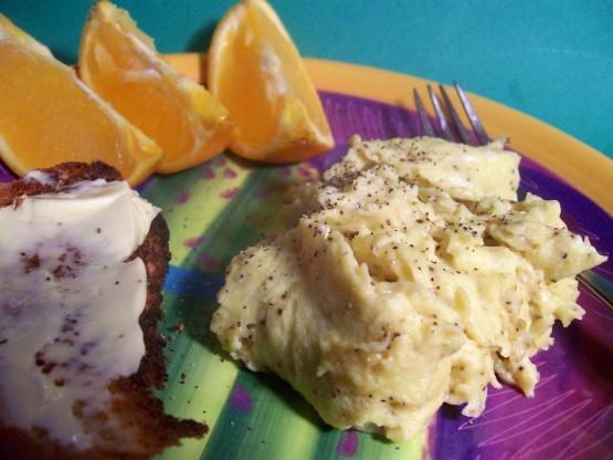 how to make scrambled eggs easy
