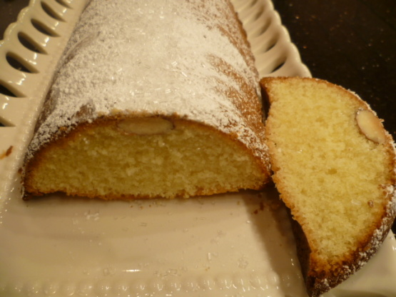 Scandinavian Almond Cake Recipe