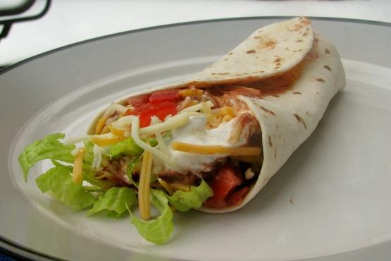TSR Version Of Taco Bell Style Burrito Supreme By Todd Wilbur Recipe