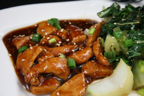 Our sesame chicken sauce chinese recipe genius kitchen like forumfinder Gallery