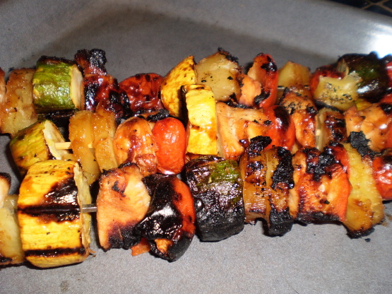 Teriyaki Chicken Kabobs Recipe Genius Kitchen