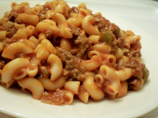 Easy beef macaroni recipe genius kitchen forumfinder Image collections