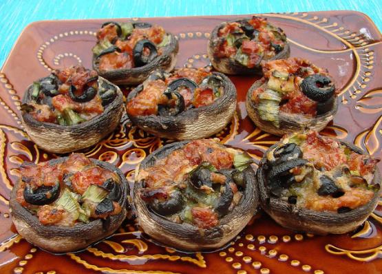 Tuscan Mushroom Hors D Oeuvres Recipe Genius Kitchen